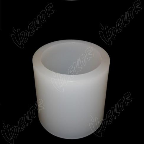 Κουφωτό Φωτοφόρο Κερί Κύλινδρος Διαμέτρου 10cm. Ύψος 12cm.