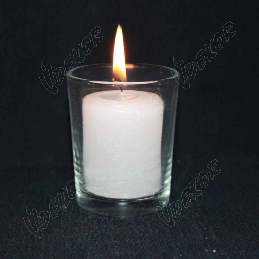 Ανταλλακτικό Κερί Για Ποτήρι Σφηνάκι  9cl Κουτί 100τεμ. Χονδρική (100x0,35€+ΦΠΑ)