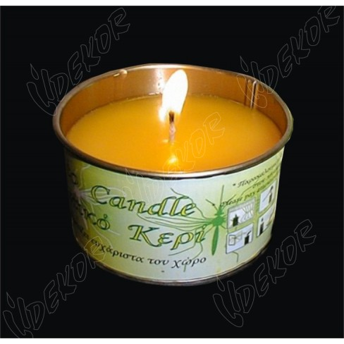 Citronella Κερί Κονσέρβα 3+1 Δώρο Φ8cm. Κιβώτιο 6Χ4άδες 24Χ0,95€+ΦΠΑ