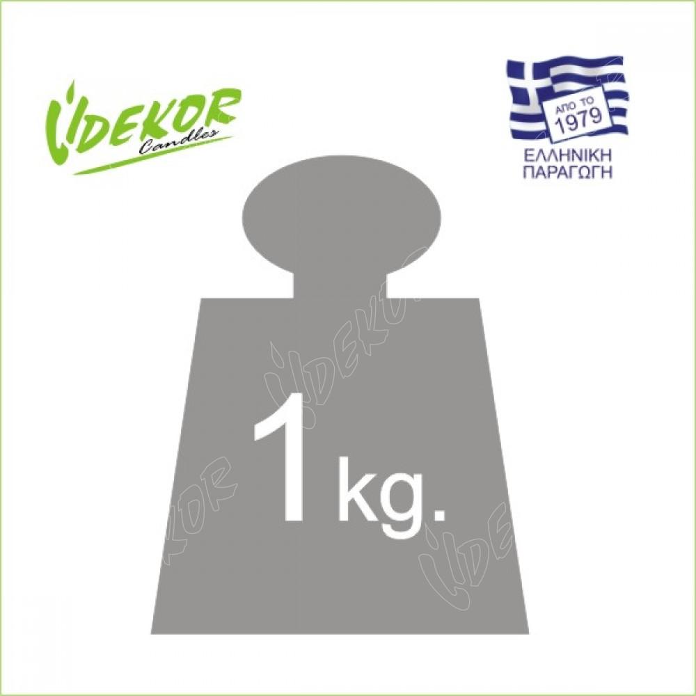 Citronella Κερί Τρίμα 1kg.+10 Φυτίλια