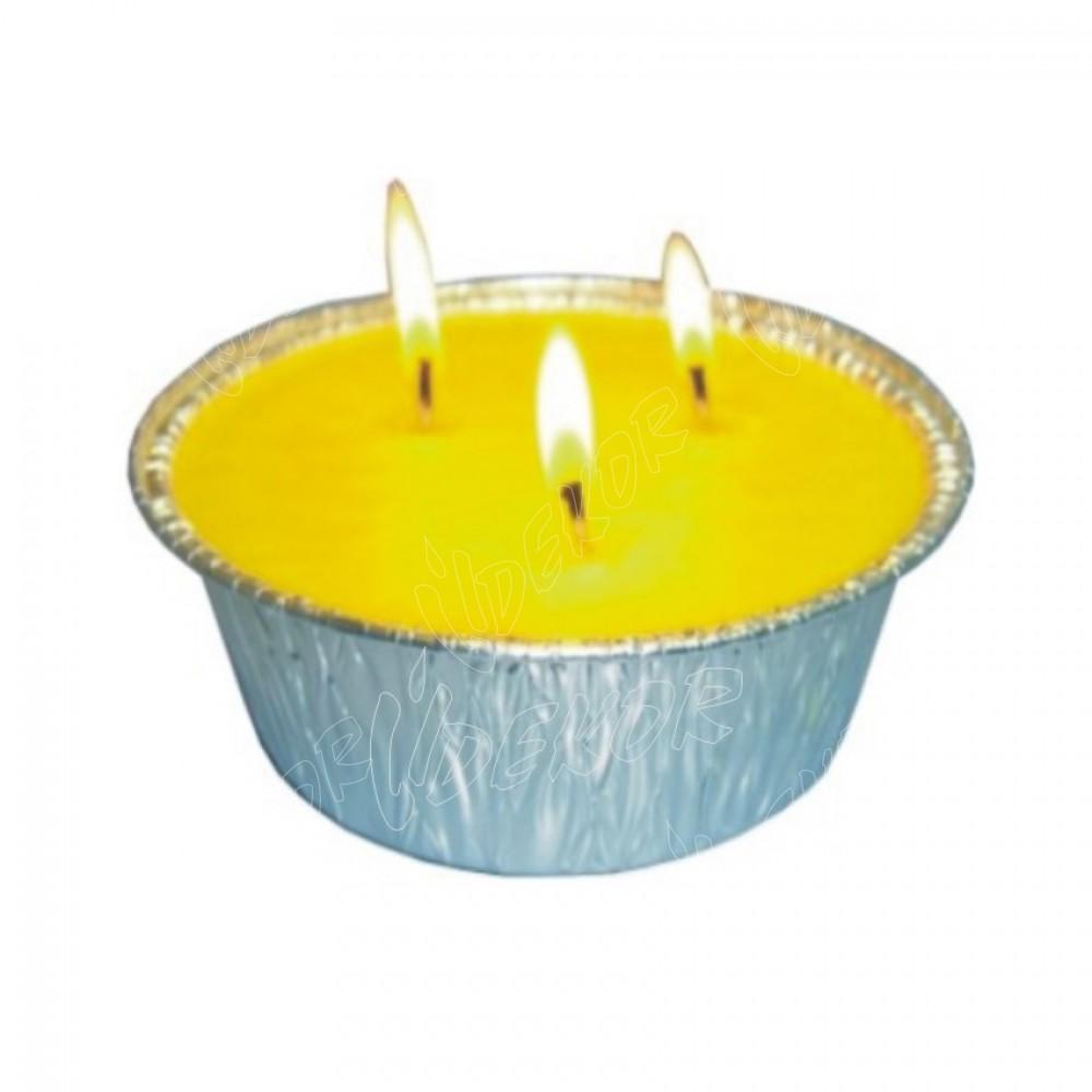 Citronella Κερί Αλουμίνιο Νο3 Κιβώτιο 10 τεμάχια (10x1,95€)+ΦΠΑ