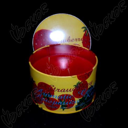 Αρωματικό Κερί Κονσέρβα Φράουλα Μεγάλη