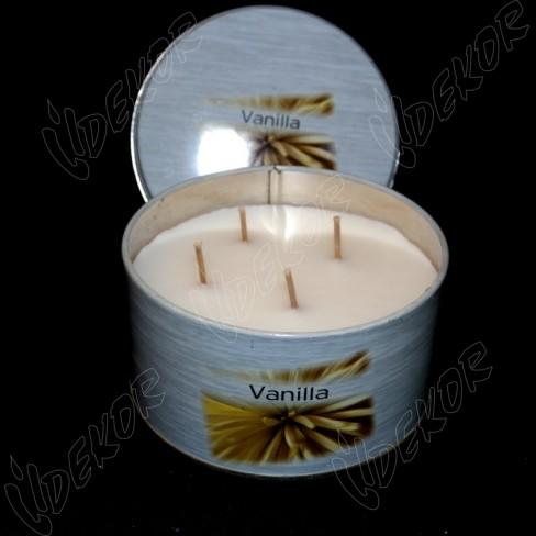 Αρωματικό Κερί Κονσέρβα Vanilla Μεγάλη