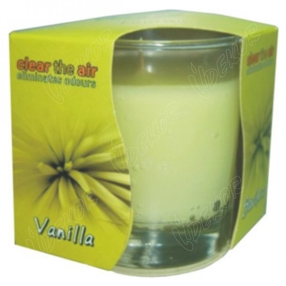 Αρωματικό Κερί Ποτήρι Vanilla