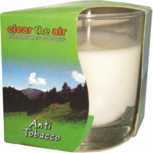 Αρωματικό Κερί Ποτήρι Anti-Tobacco