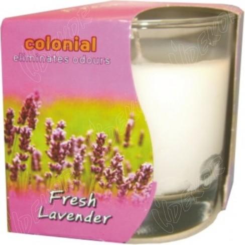 Αρωματικό Κερί Ποτήρι Fresh Lavender
