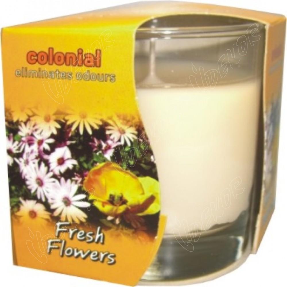 Αρωματικό Κερί Ποτήρι Fresh Flowers