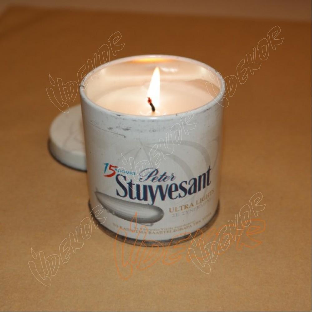 """""""Stuyvesant"""" Κερί Εκτύπωση Σε Μεταλλικό Σκεύος"""