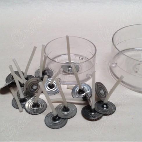 Κυπελάκια Διαφανές Polycarbonate  Φ 4cm, RESSO 1000τεμ.