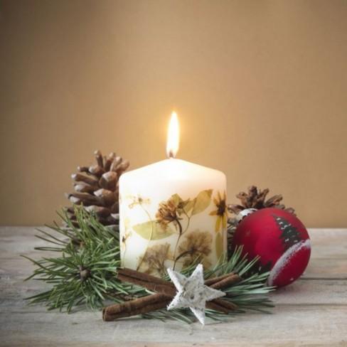 Κεριά Χριστουγέννων