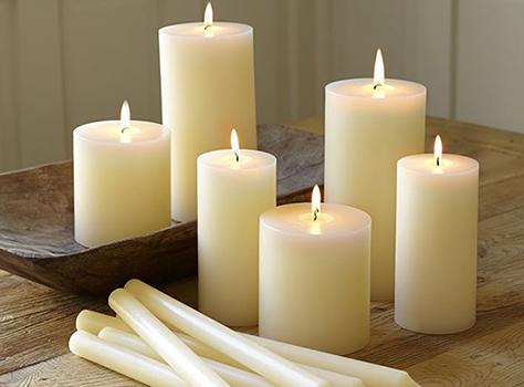 Κυλινδρικά Κεριά